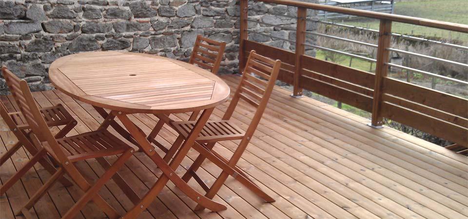 Terrasse en Bois  Conseil et Pose  PuydeDôme (63)