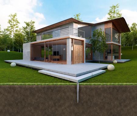 Vis Krinner : installation terrasse