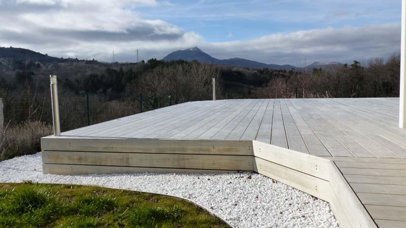 Terrasse accoya et spots Puy-de-Dôme 2017