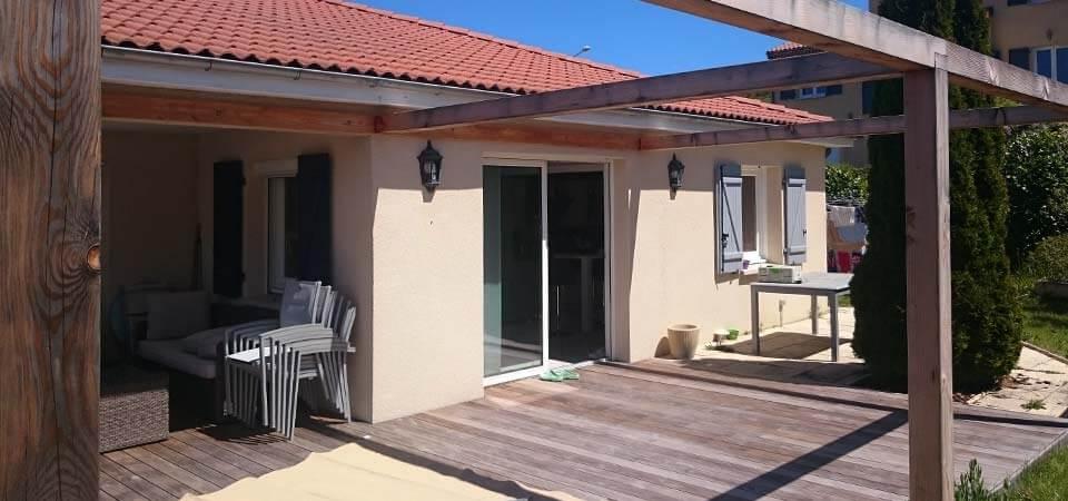 Terrasse kebony à Veyre-Monton